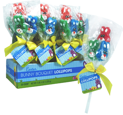 Koko's Confectionery and Novelty > Retail Candy > Easter Candy > 30091 Bunny Bouquet
