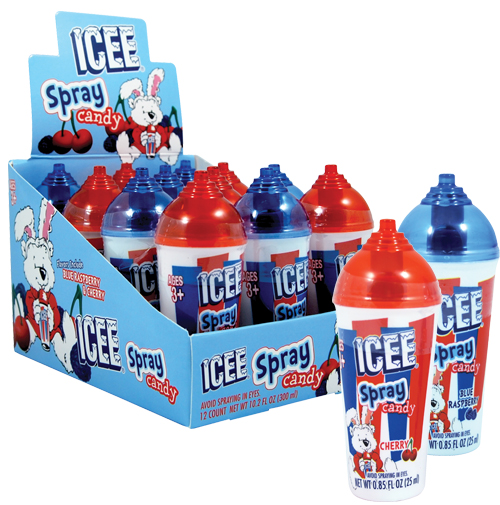 Koko's Confectionery and Novelty > Retail Candy > Easter Candy > 32200 ICEE Easter Spray Candy