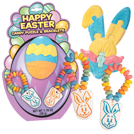 Retail Candy > Easter Candy > 38953 Easter Candy Puzzle and Bracelets