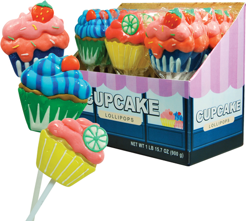 Retail Candy > Everyday Candy > 10204 Cupcake Lollipop