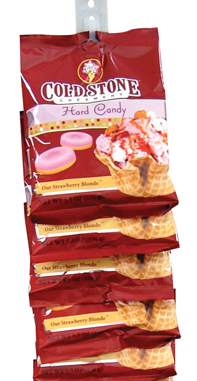 Retail Candy > Everyday Candy > 10224 Cold Stone Creamery Hard Candy Clip Strips - Strawberry Blonde