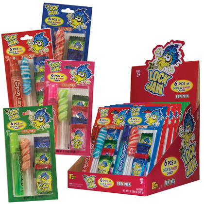 Retail Candy > Everyday Candy > 12302 Lock Jaw Fun Mix