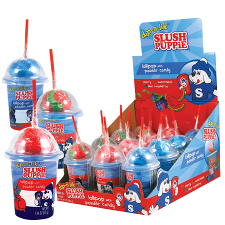 Retail Candy > Everyday Candy > 12218-SP Slush Puppie Dip-N-Lick Candy