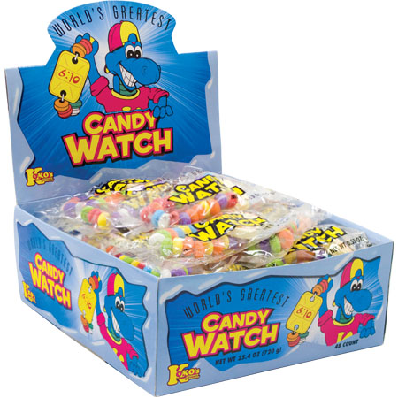 Retail Candy > Everyday Candy > 38153 Candy Watch