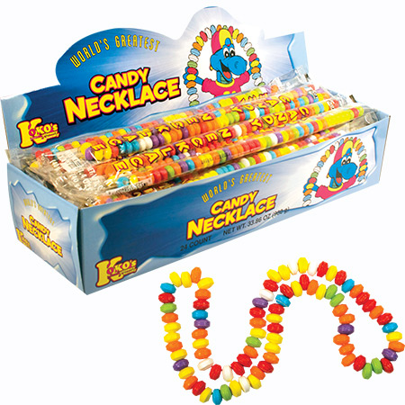 Retail Candy > Everyday Candy > 38400 40 gram Candy Necklace