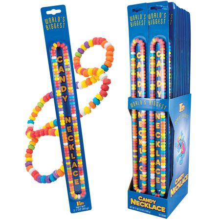 Retail Candy > Everyday Candy > 38500 World's Biggest Candy Necklace