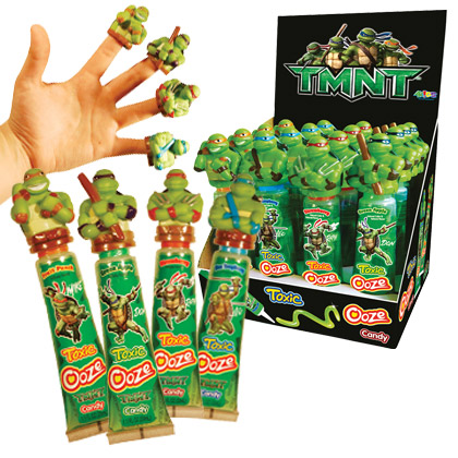 Retail Candy > Everyday Candy > 56200 Teenage Mutant Ninja Turtles Ooze Candy with Finger Puppets
