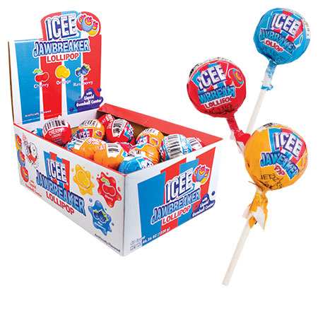Retail Candy > Everyday Candy > ICEE Jawbreaker Lollipop