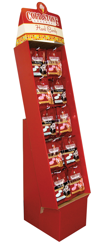 Retail Candy > Everyday Candy > 10224 Cold Stone Creamery Hard Candy Shipper Display