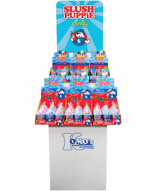 Retail Candy > Everyday Candy > 12264 - ICEE® 2 Tier Squeeze and Spray Candy Shipper