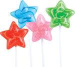 Retail Candy Shooting Star Lollipop Bouquet