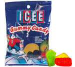 Retail Candy &gt; ICEE Gummy Candy Gravity Feed