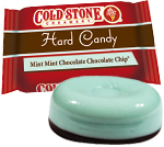 Retail Candy Cold Stone Hard Candy Mint Mint Chocolate Chip