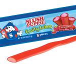 Retail Candy > Slush Puppie Fruity Tubes - Strawberry