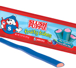 Retail Candy > Slush Puppie Fruity Tubes - Blue Raspberry