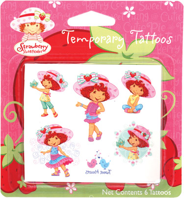 Strawberry Shortcake 2 Colorful Scented Sticker Sheets