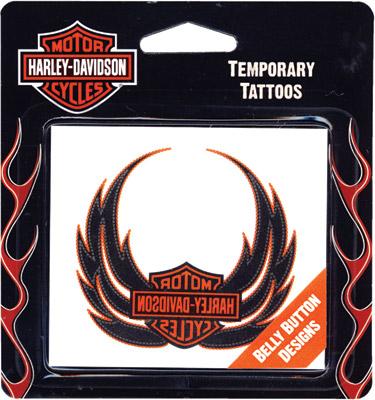 Retail Tattoos > Novelty Tattoos > F46037 Harley-Davidson Belly Button