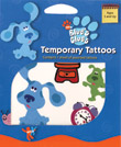 Retail Products > Retail Temporary Tattoos > Novelty Temporary Tattoo Packs > F02003 Blue's Clues Temporary Tattoos Novelty Pack