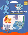 Retail Products > Retail Temporary Tattoos > Novelty Temporary Tattoo Packs > F02004 Blue's Clues Temporary Tattoos Novelty Pack