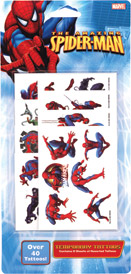 Retail Products > Retail Temporary Tattoos > Temporary Tattoo Party Packs > F48005 Spider-Man Temporary Tattoos Party Pack
